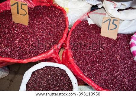 Bulk Beans - stock photo