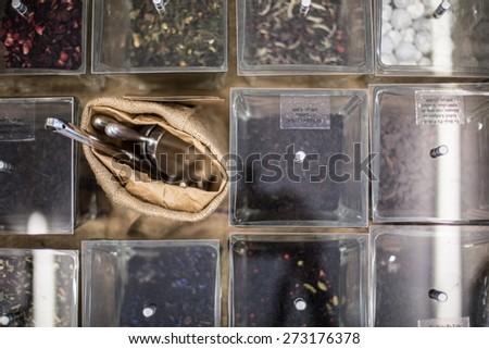 bulk store - stock photo