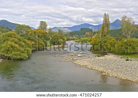 Buller River, South Island, New Zealand
