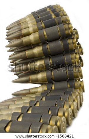 Bullet Belt - stock photo