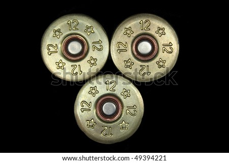 Bullet. Macro. - stock photo