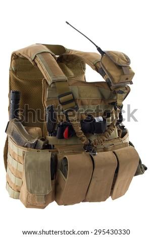 Bulletproof vest - stock photo