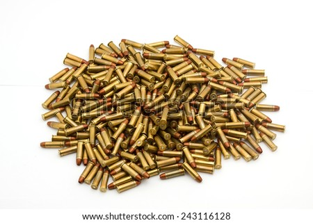 bullets  - stock photo