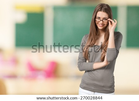 Bullying. Left Out - stock photo
