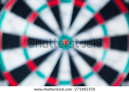 bulr background of darts boards - stock photo