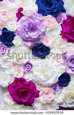 Bunch of flowers. Flowers. Colors - stock photo