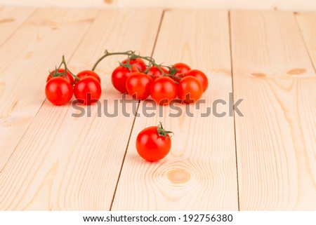 Bunch of fresh cherry tomatoes. Whole background.