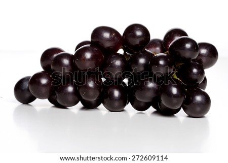 Bunch of grapes - studio shot