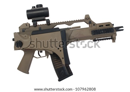 bundeswehr assault rifle
