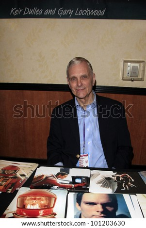 "BURBANK - APR 22:  Keir Dullea participates at ""The Hollywood Show"" at Burbank Airport Marriott on April 22, 2012 in Burbank, CA"
