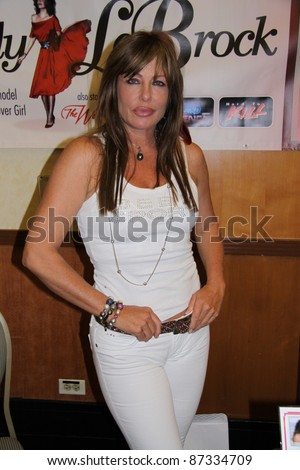 BURBANK, CA - JULY 16: Actress/model Kelly LeBrock attends the Hollywood Show at Burbank Airport Marriott Hotel & Convention Center on July 16, 2011 in Burbank, CA.