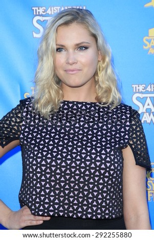 BURBANK - JUN 25: Eliza Taylor at the 41st Annual Saturn Awards at The Castaway on June 25, 2015 in Burbank, California, - stock photo