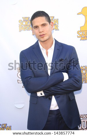 BURBANK - JUN 26: J D Pardo at the 39th Annual Saturn Awards held at Castaways on June 26, 2013 in Burbank, California