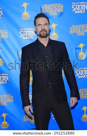 BURBANK - JUN 25: Shane West at the 41st Annual Saturn Awards at The Castaway on June 25, 2015 in Burbank, California, - stock photo