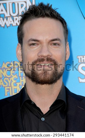BURBANK - JUNE 25: Shane West arrives at the 41st Annual Saturn Awards on Thursday, June 25, 2015 at the Castaway Restaurant in Burbank, CA. - stock photo