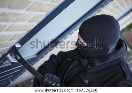Burglary - stock photo