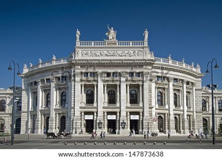 Burgtheater Vienna - stock photo