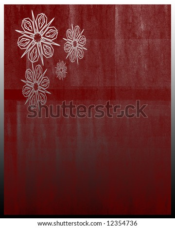 Burgundy background with festive design