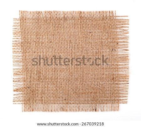 Burlap - stock photo
