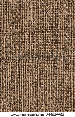 Burlap Canvas Coarse Grunge Texture Detail