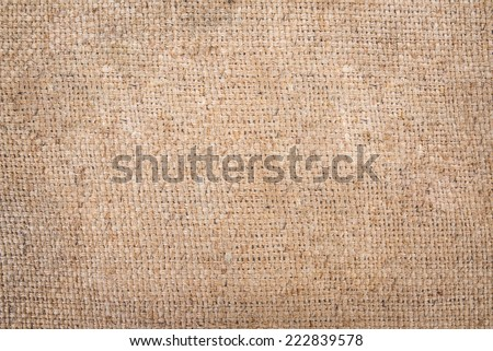 burlap of sacking texture, background - stock photo
