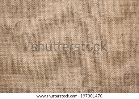 Burlap or sacking texture for the background close up. - stock photo
