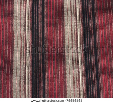 Burlap, texture - stock photo