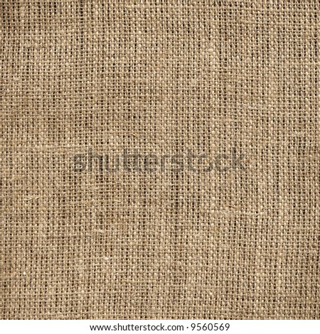 Burlap texture:can be very useful for designers purposes - stock photo