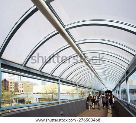 how to get to metropolis by skytrain