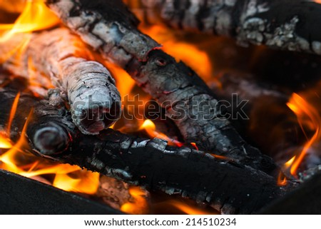 burning coals of fire