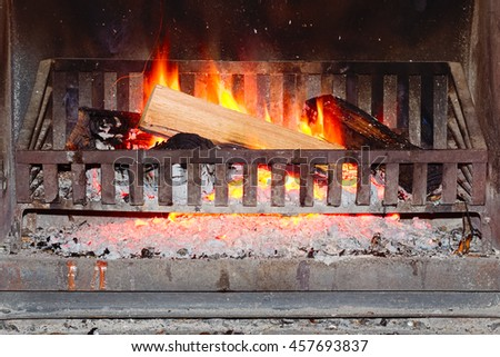 Fireplace Grate Stock Images Royalty Free Images Vectors