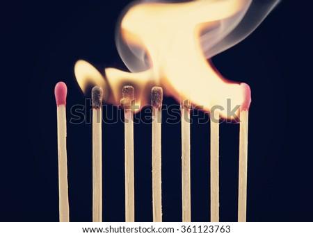 stock-photo-burning-matches-on-black-bac