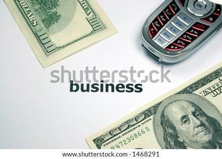 business 100 - stock photo