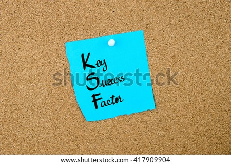 what are the key success factors ksf An industry's key success factors (ksfs) are those competitive factors that most affect industry members' ability to prosper in the marketplace ksfs by their very nature are so important to.