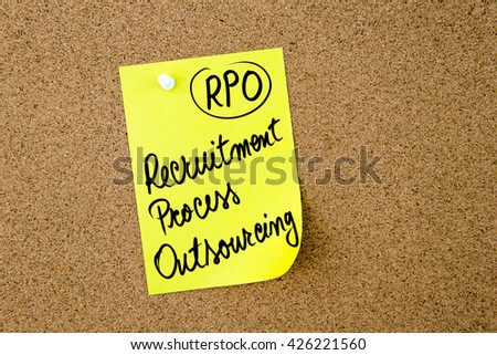 thesis on recruitment process outsourcing Human resource outsourcing: analysis based on  influential thesis of the four roles of hr, in  worldwide hr business process outsourcing (bpo) will be.