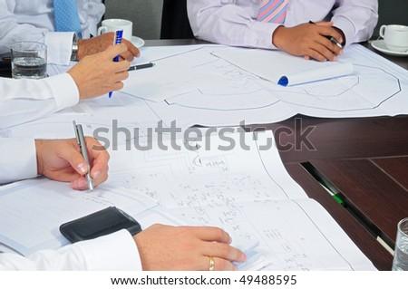Business activities. - stock photo