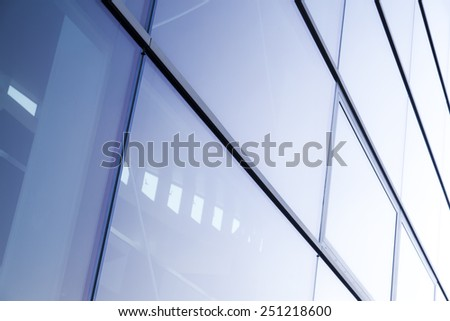 business and industrial architecture - stock photo