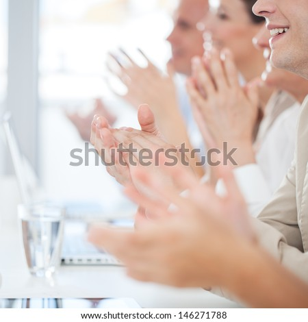 Business Applause - stock photo