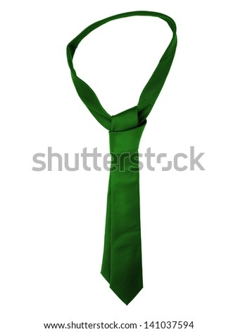 Business attire isolated against a whiute background - stock photo