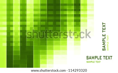 business background green - stock photo