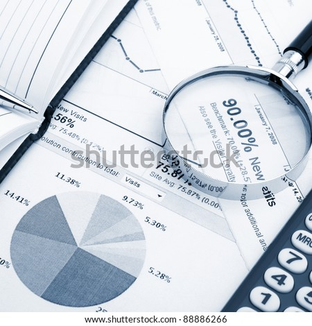 Business balance - stock photo