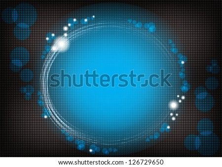 Business blue abstract background