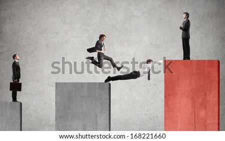 Business Bridge - stock photo