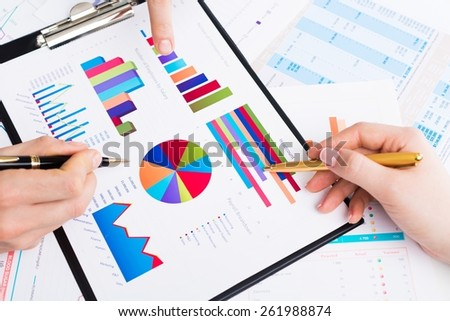 Business. Business meeting - stock photo