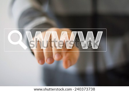 Business button web www icon - stock photo