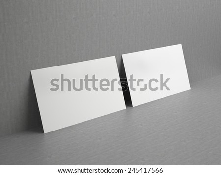 Business cards blank mockup template stock illustration 245417566 business cards blank mockup template reheart Image collections