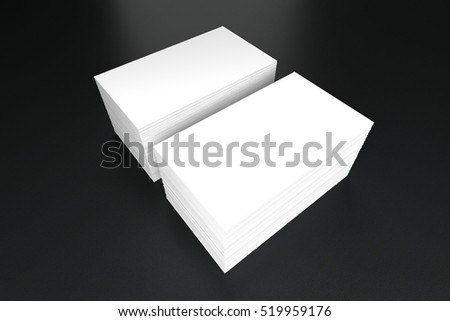 Business cards blank mockup template 3d stock illustration 519959176 business cards blank mockup template 3d illustration accmission Image collections