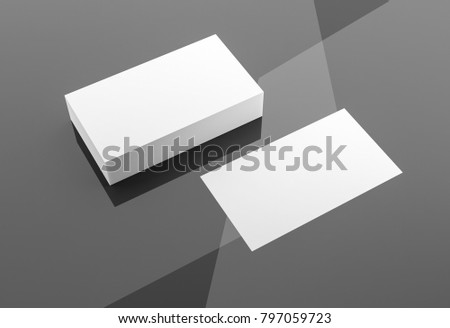 Business cards blank mockup template 3d stock illustration 797059723 business cards blank mockup template 3d rendering fbccfo Choice Image