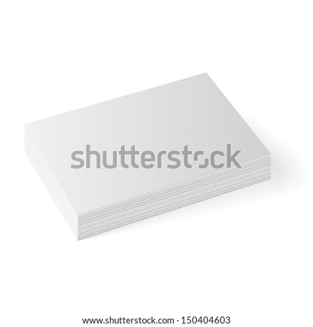 Business cards isolated