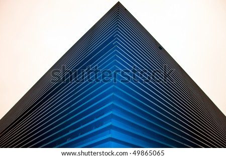 Business center outdoor - stock photo